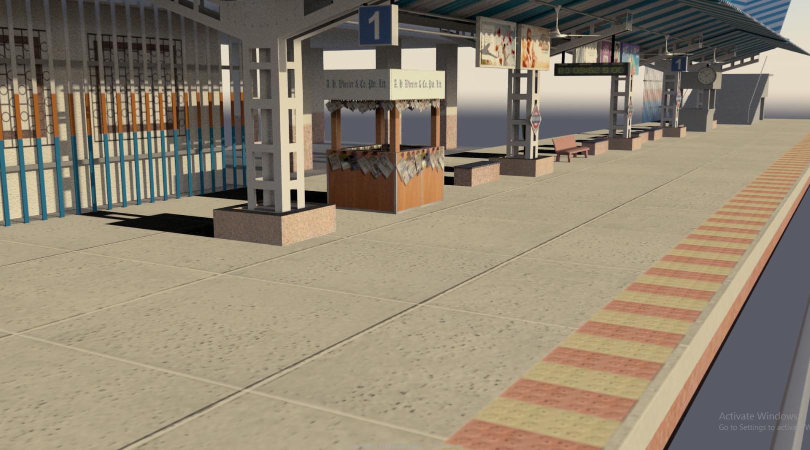 Rajesh sawant mahim platform 3