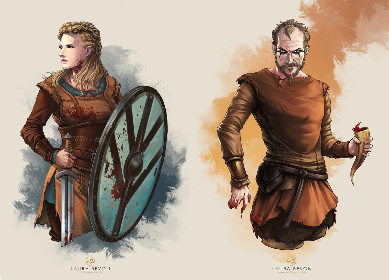 Fanart - Vikings