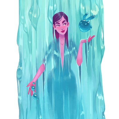 Anna daviscourt waterfall sig
