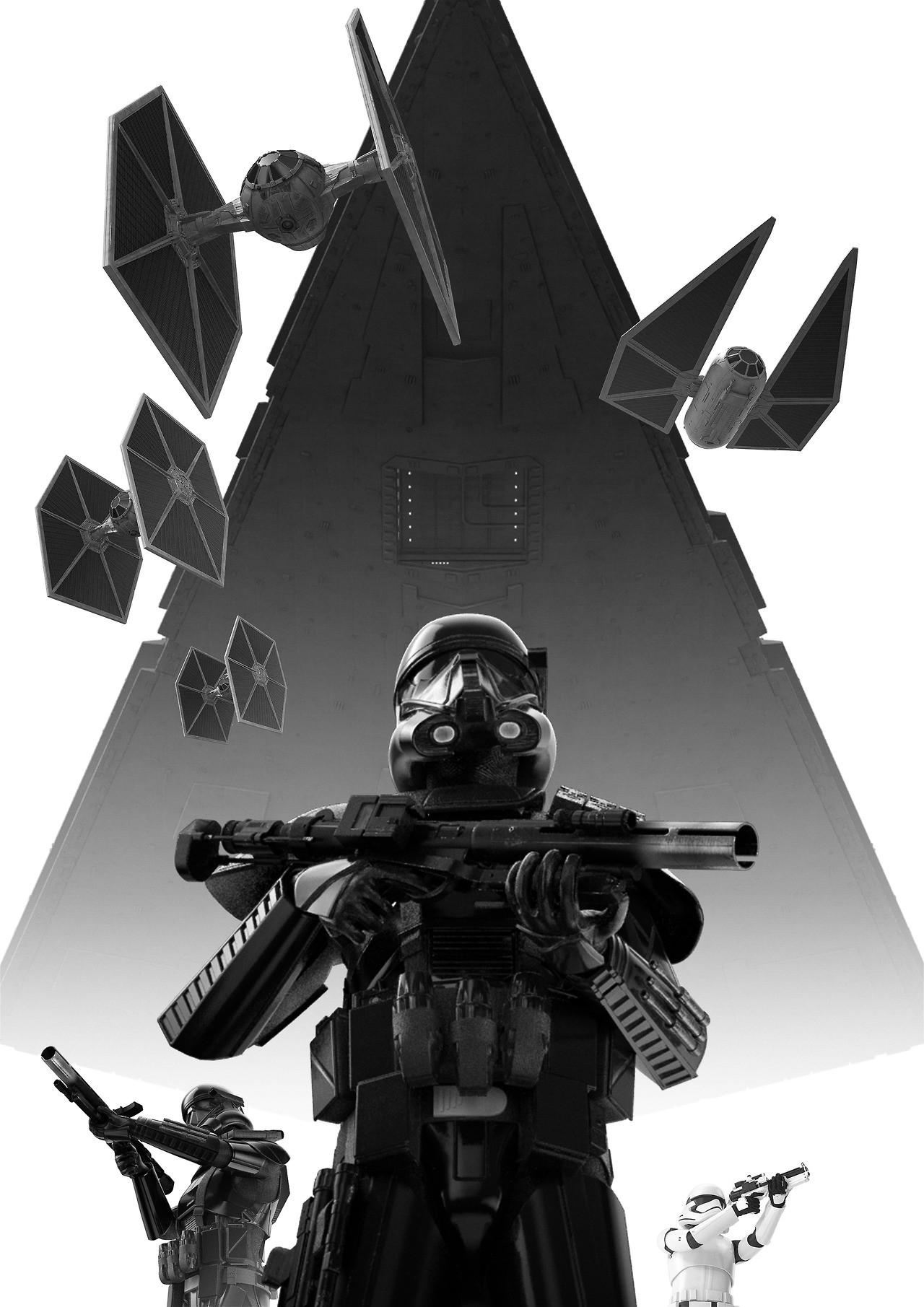 Artstation Star Wars Dark Trooper Poster Wallpaper Red Der