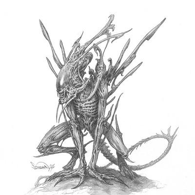 Filip burburan xenomorph 03