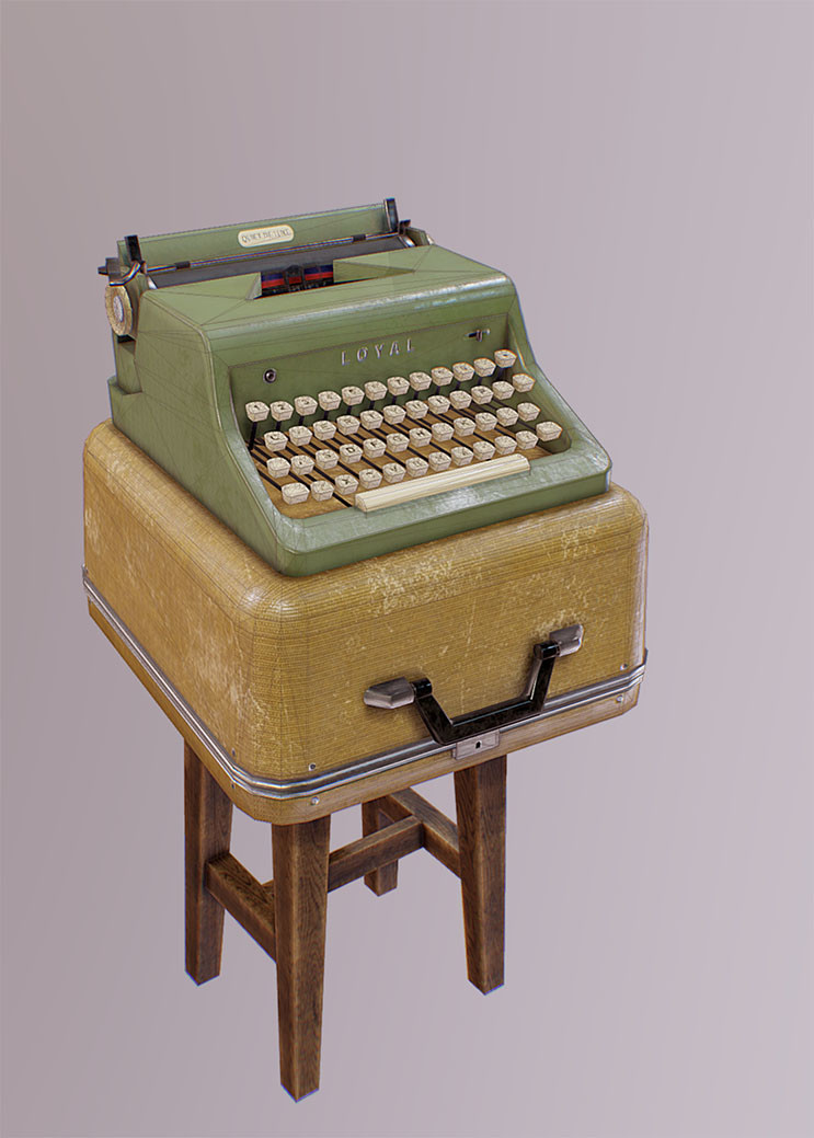 Mine yilmaz ulas typewriter3