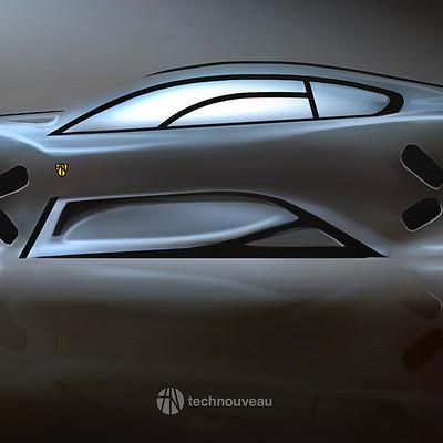 Rasmus poulsen sketch car 02