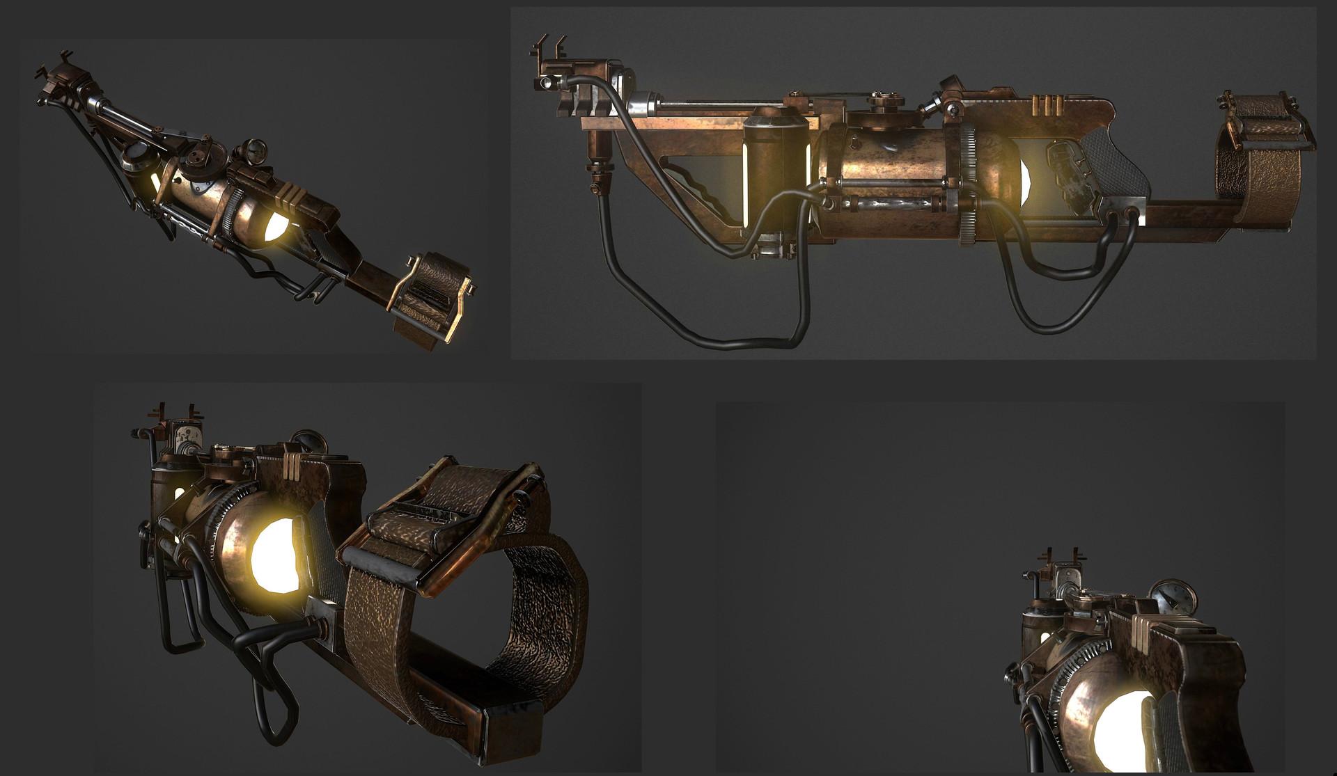 Artstation bioshock 2 rivet gun fanart emily zsarko scroll to see more mozeypictures Images