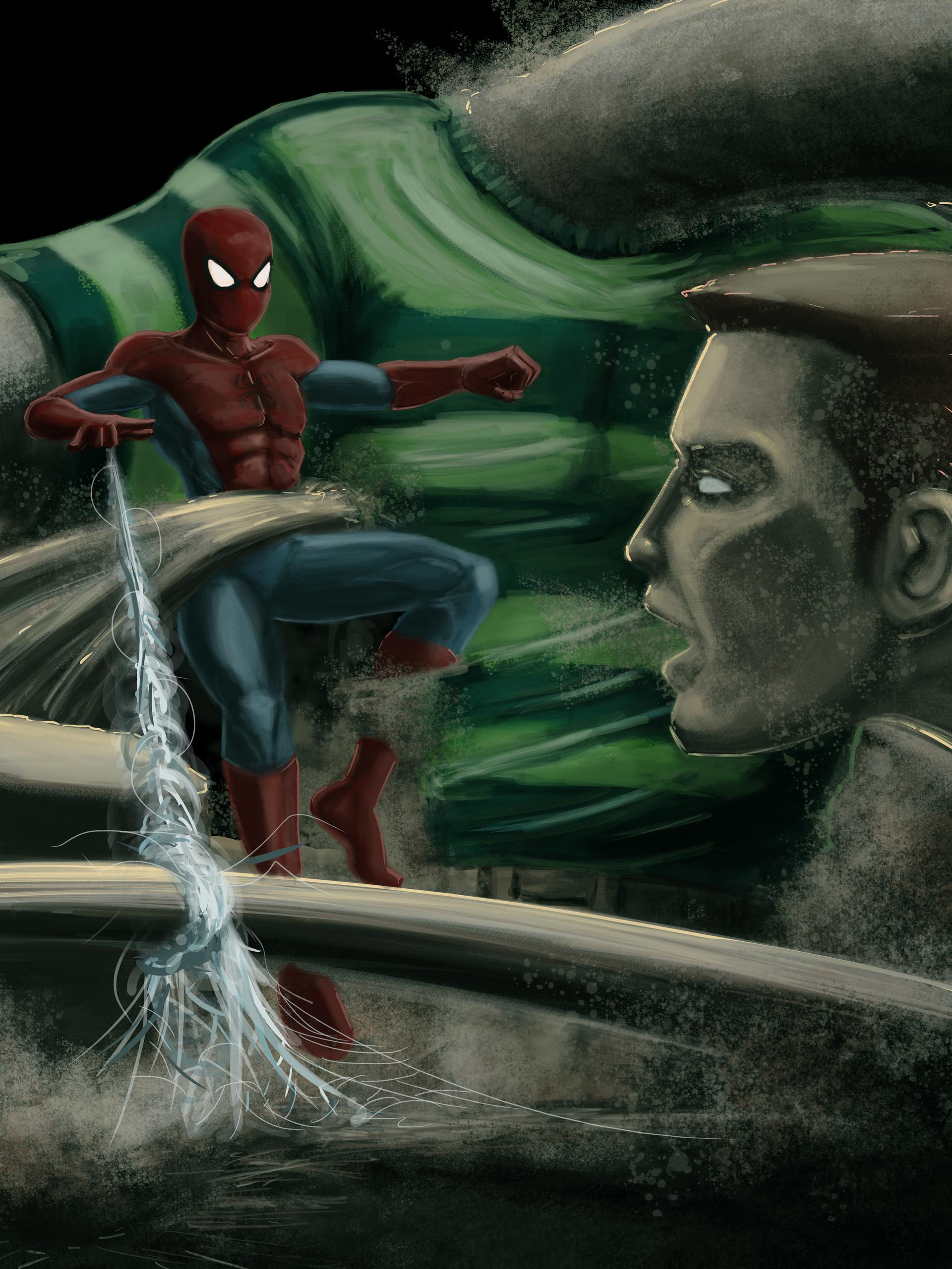 Jonathan allarie spiderman7