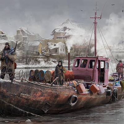 Filip dudek boat by 5ofnovember d9pzeju