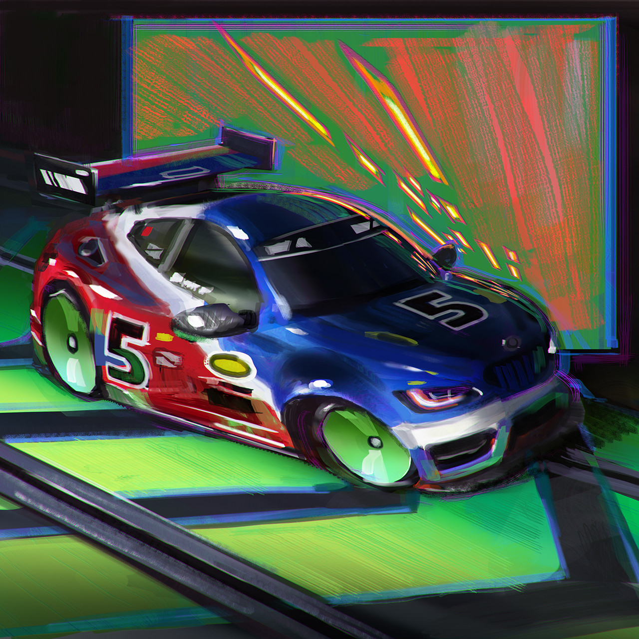 Toy Slot Car VR game