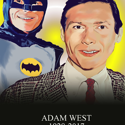 Andre smith adam west batman tribute1 2