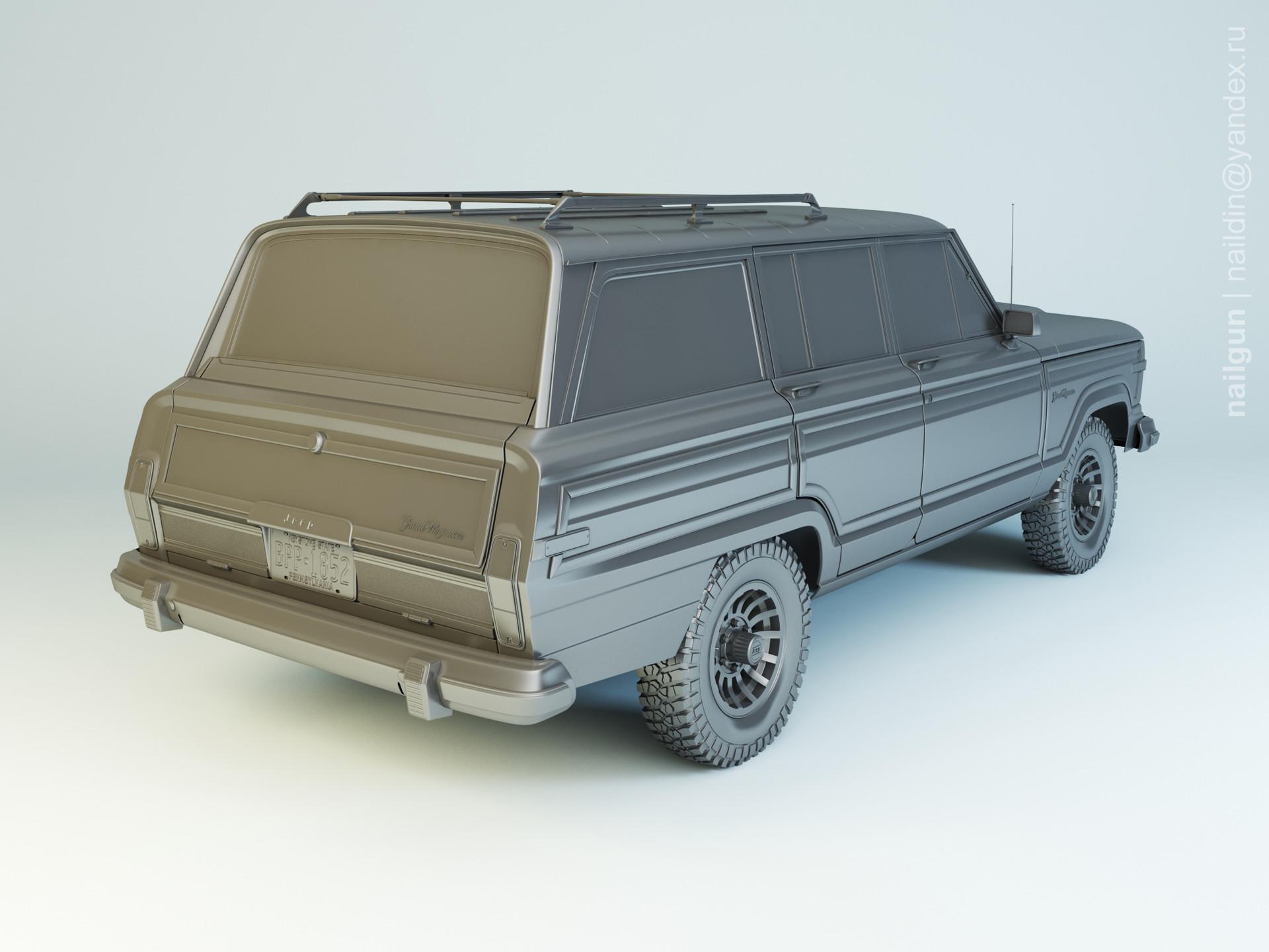 Nail khusnutdinov pwc 039 003 jeep wagoneer modelling 1