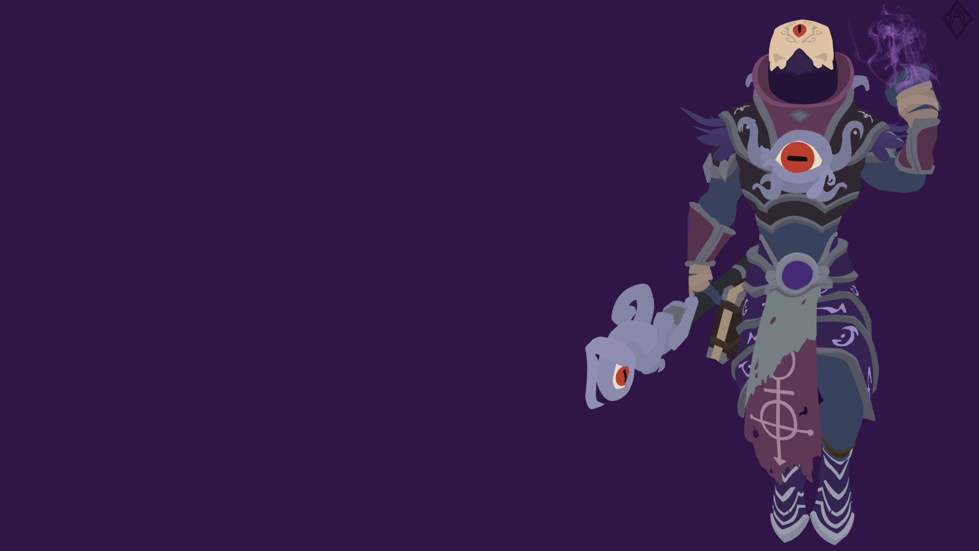 Artstation smite eldritch ra minimalist wallpaper jay r - Eldritch wallpaper ...