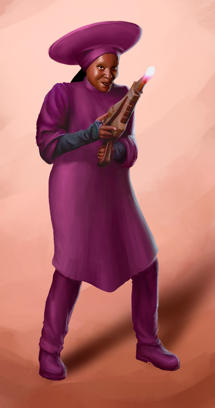 Guinan Star Trek Wrath of Gems