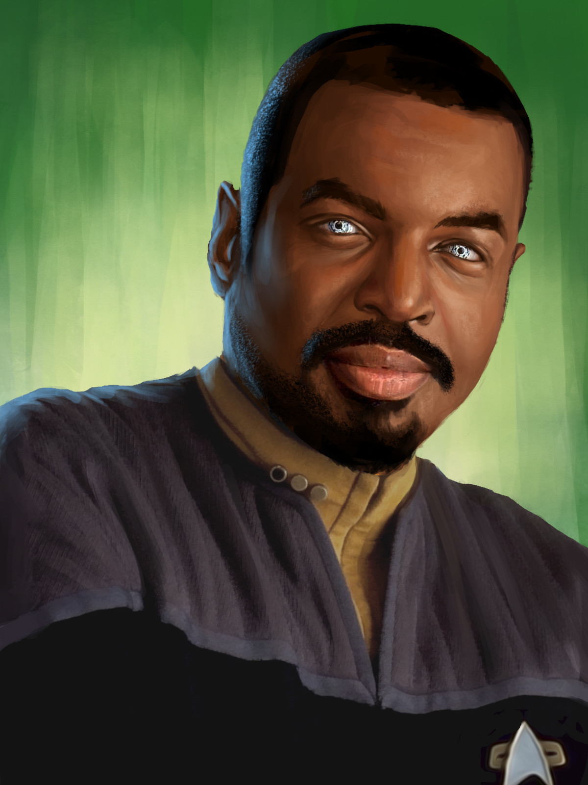 Star Trek Wrath of Gems LaForge