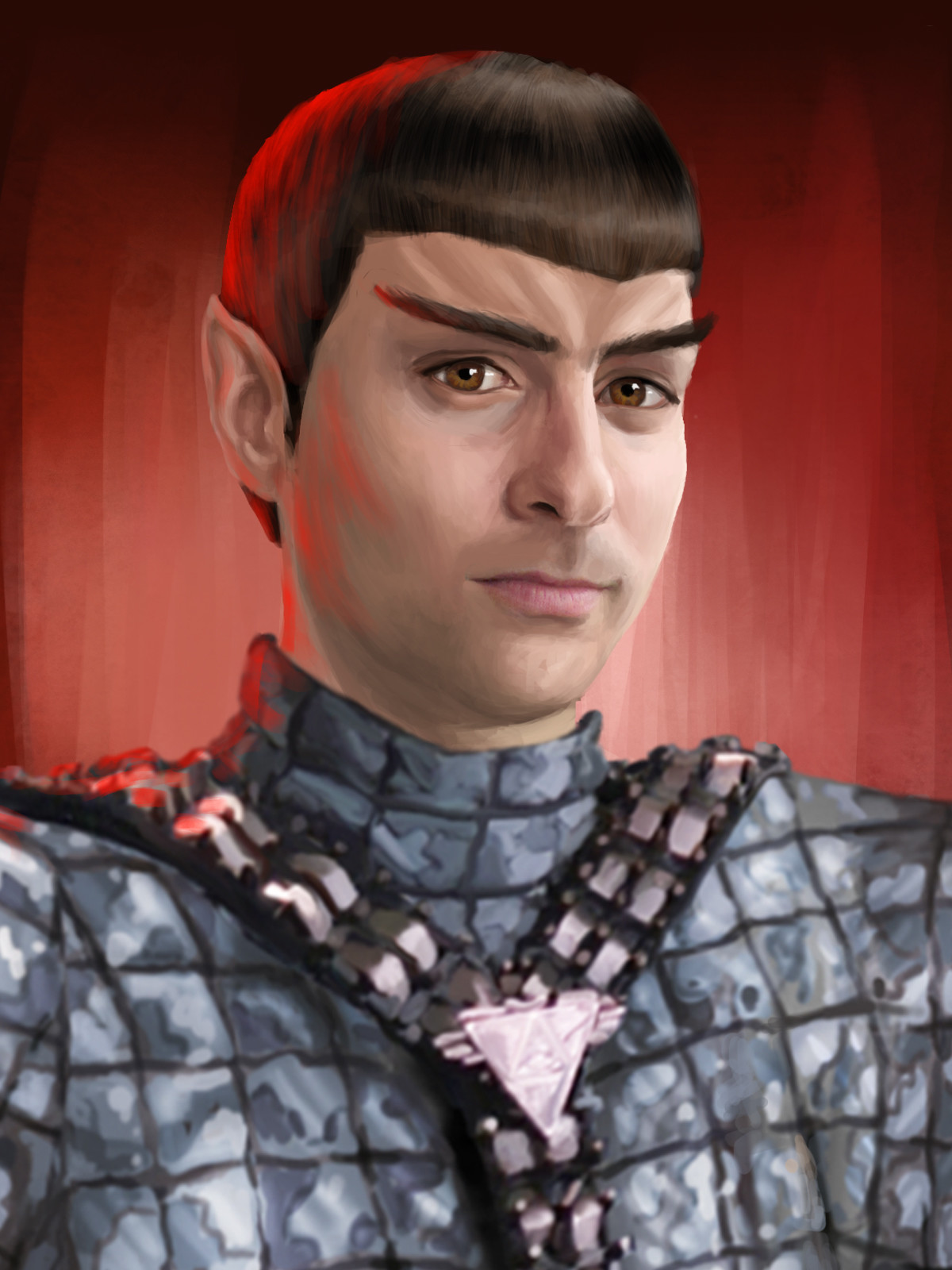 Star Trek Wrath of Gems Romulan