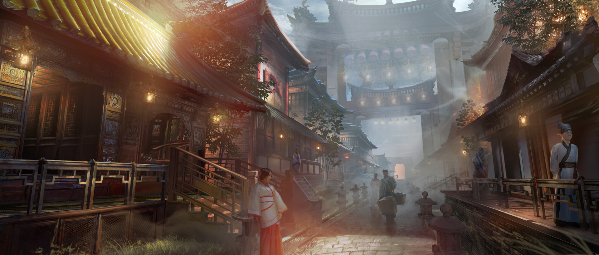 Artstation East Asia Concept Art Massy Ck