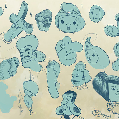 Robert shea character development blob practice 01