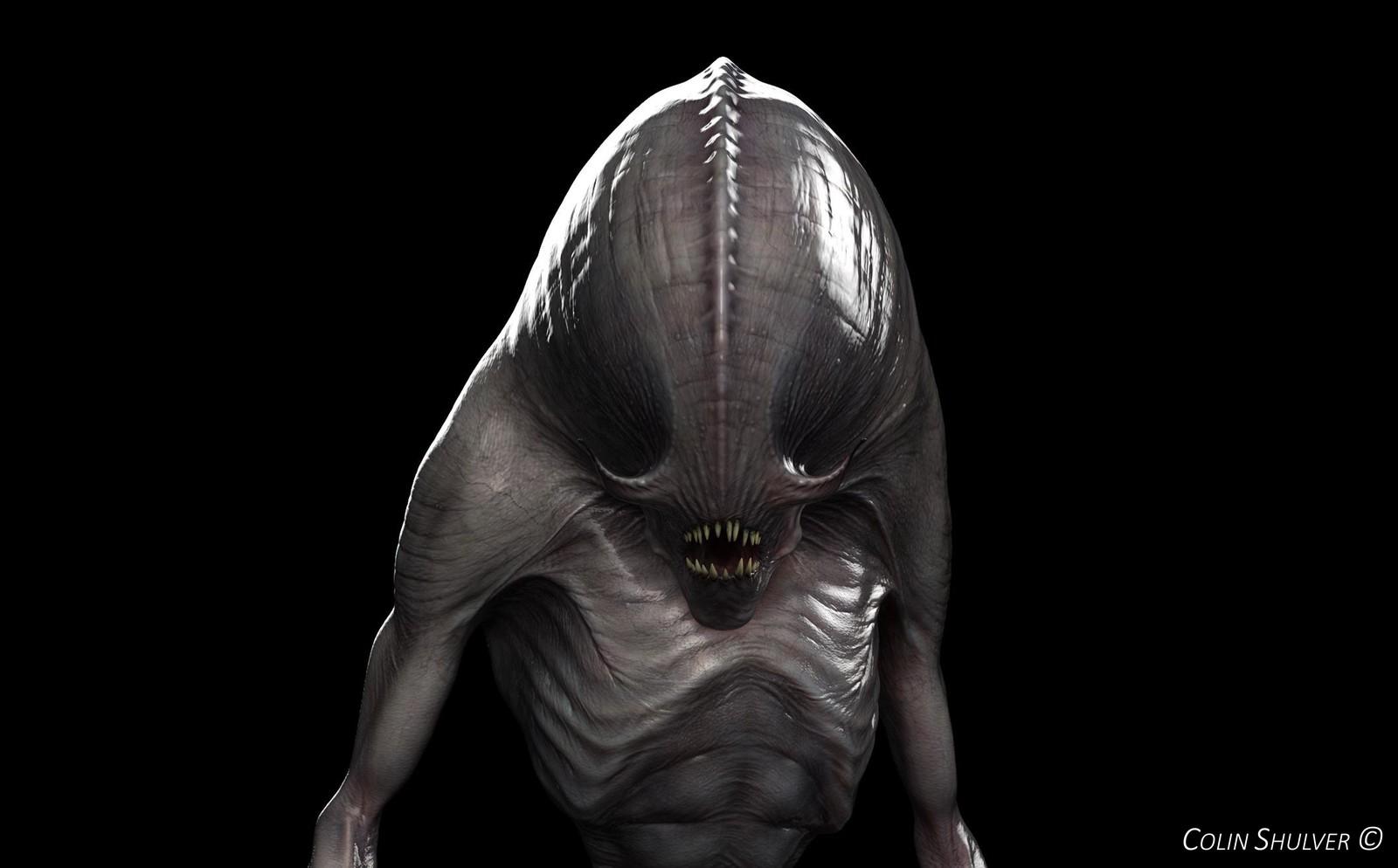 Personal Work - Aliens