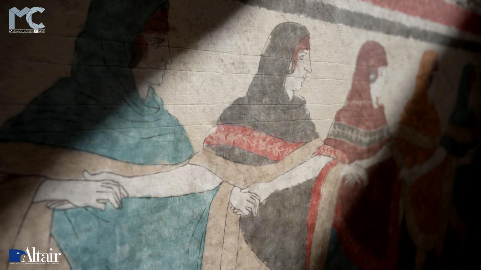 Close-up view (Marmoset Toolbag 3).