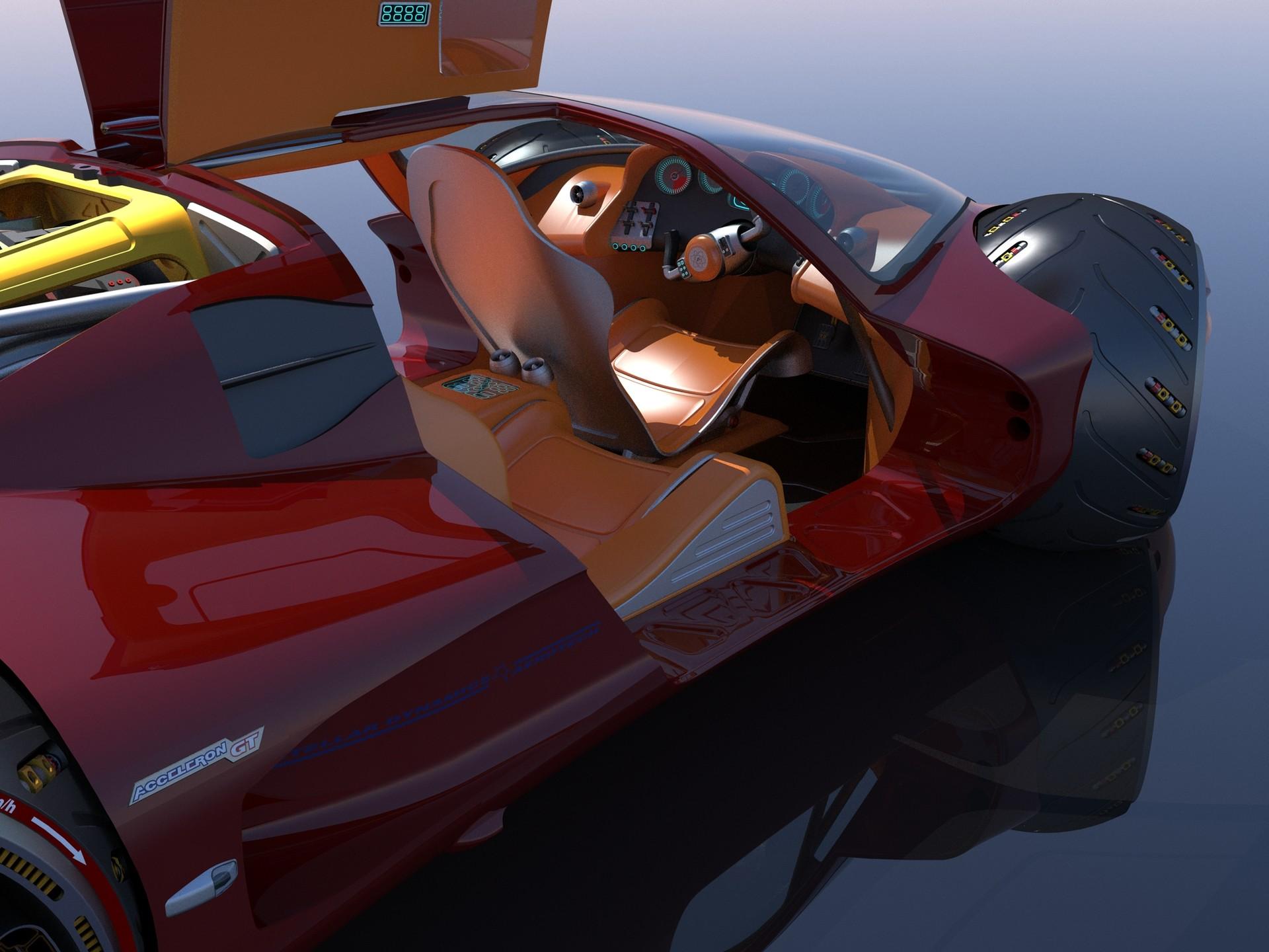 Joachim sverd supercar concept46doors open closeup