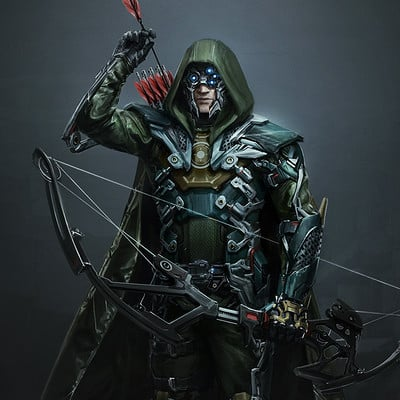 Bogdan marica bogdanmrk green arrow injustice 2