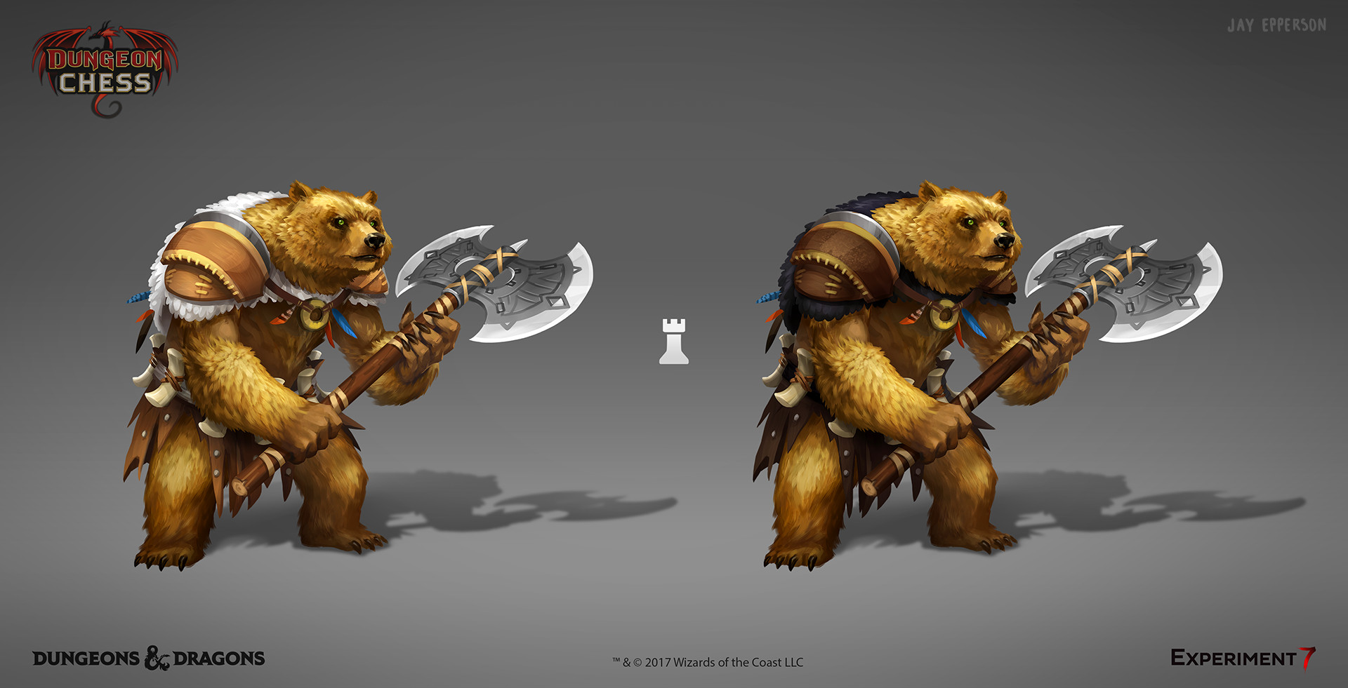 Jay epperson dungeonchess werebear