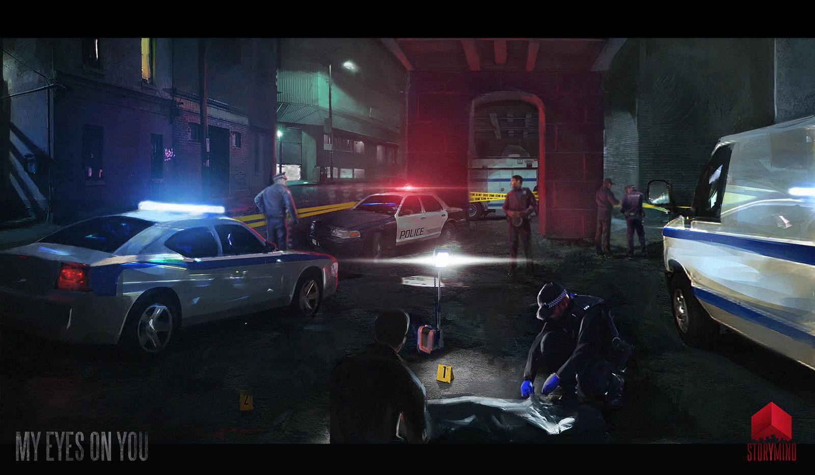 Tony skeor crime scene 2 s