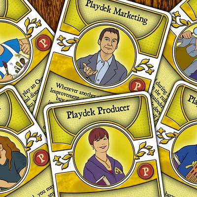Agricola Special P-Deck Cards