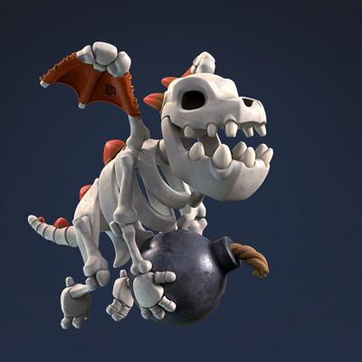 Brice laville saint martin supercell skeleton final