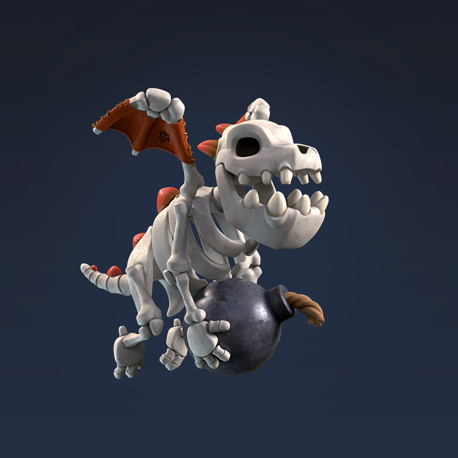 Baby Dragon Skeleton