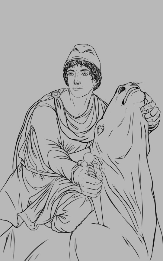 Grace palmer mithras drawing