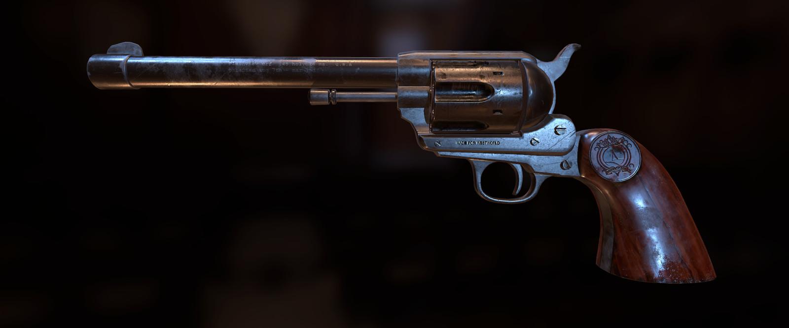Westworld VR |Grey Revolver