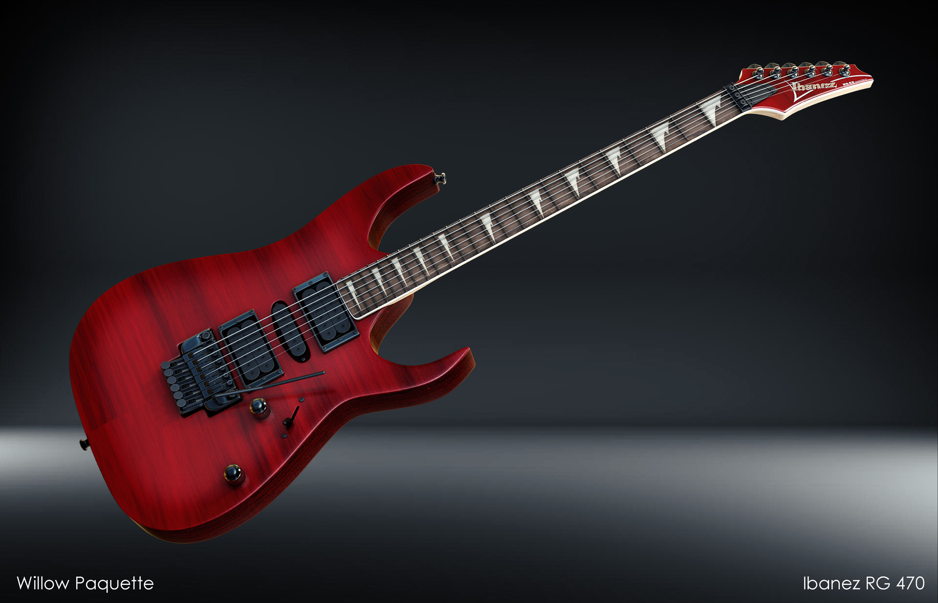 Willow Paquette - Ibanez RG 470