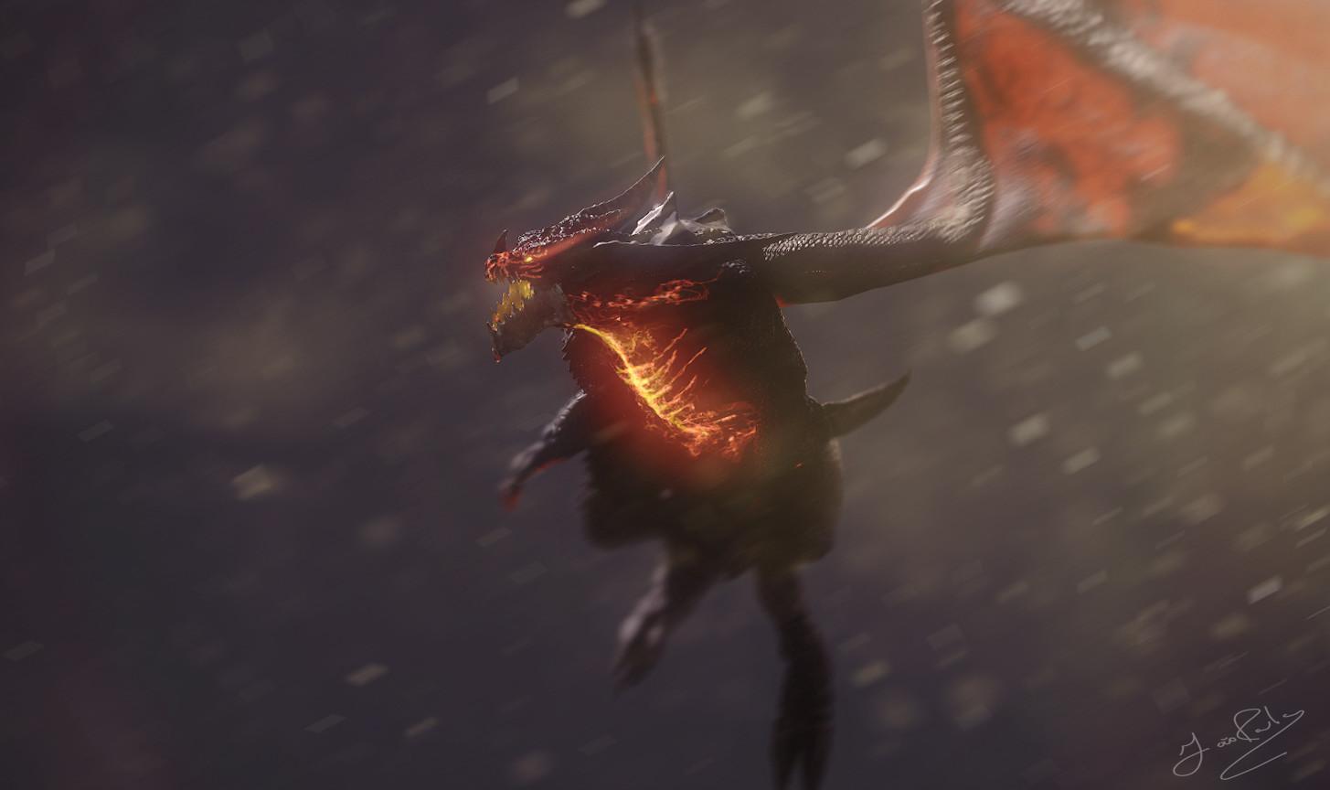 Deathwing | Neltharion - World of warcraft fan art.