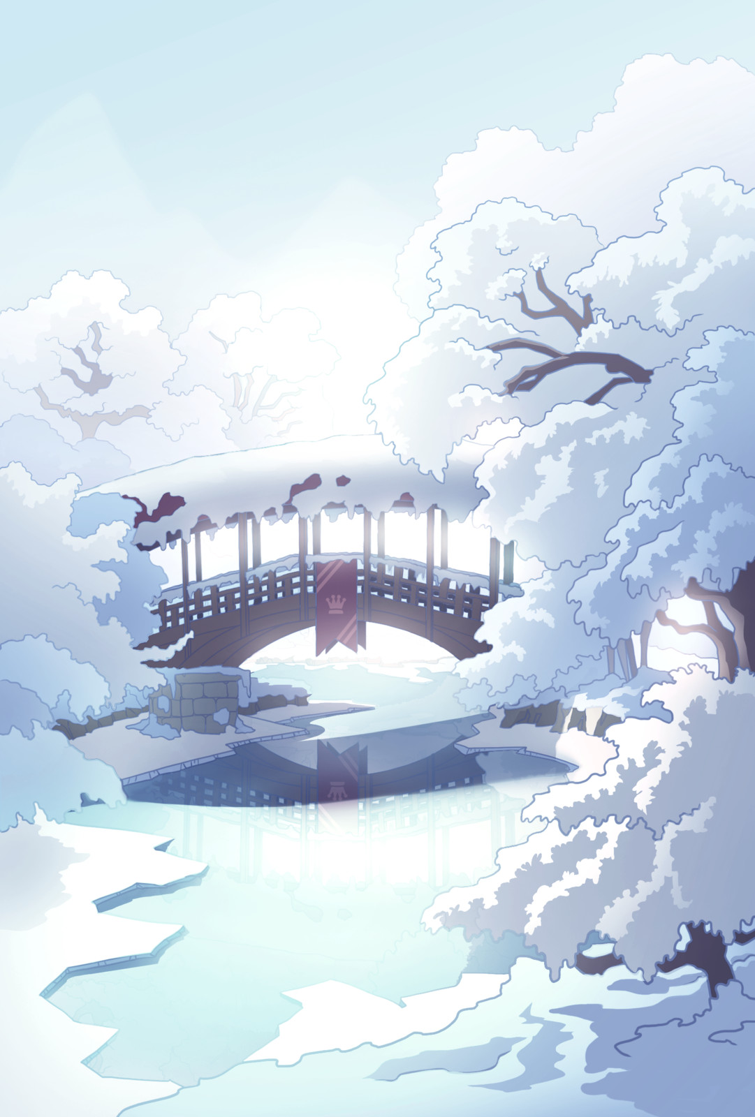 Background in game Art.