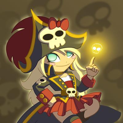 Mar hernandez art card mess skulls02