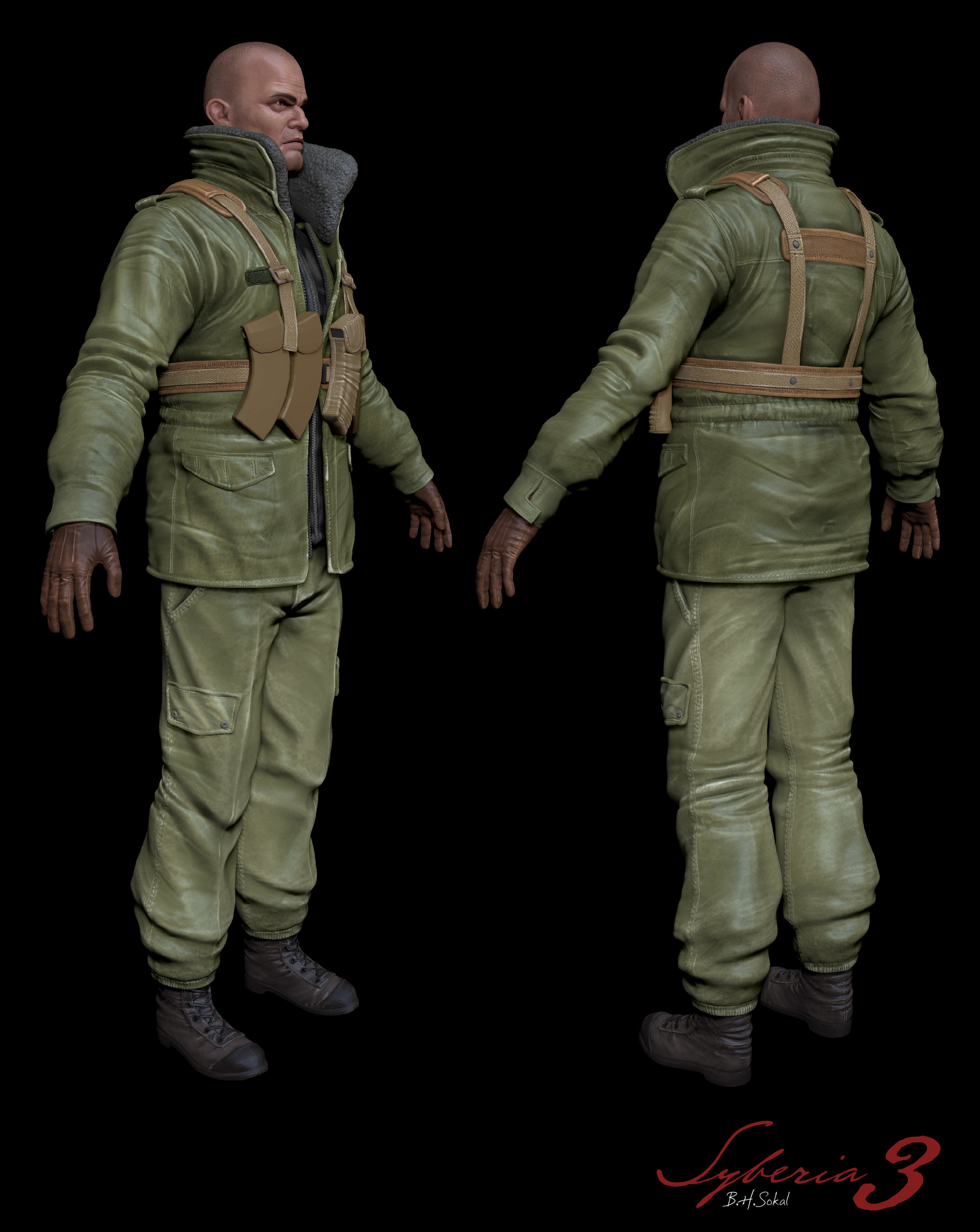 Anthony laurent soldier polypaint