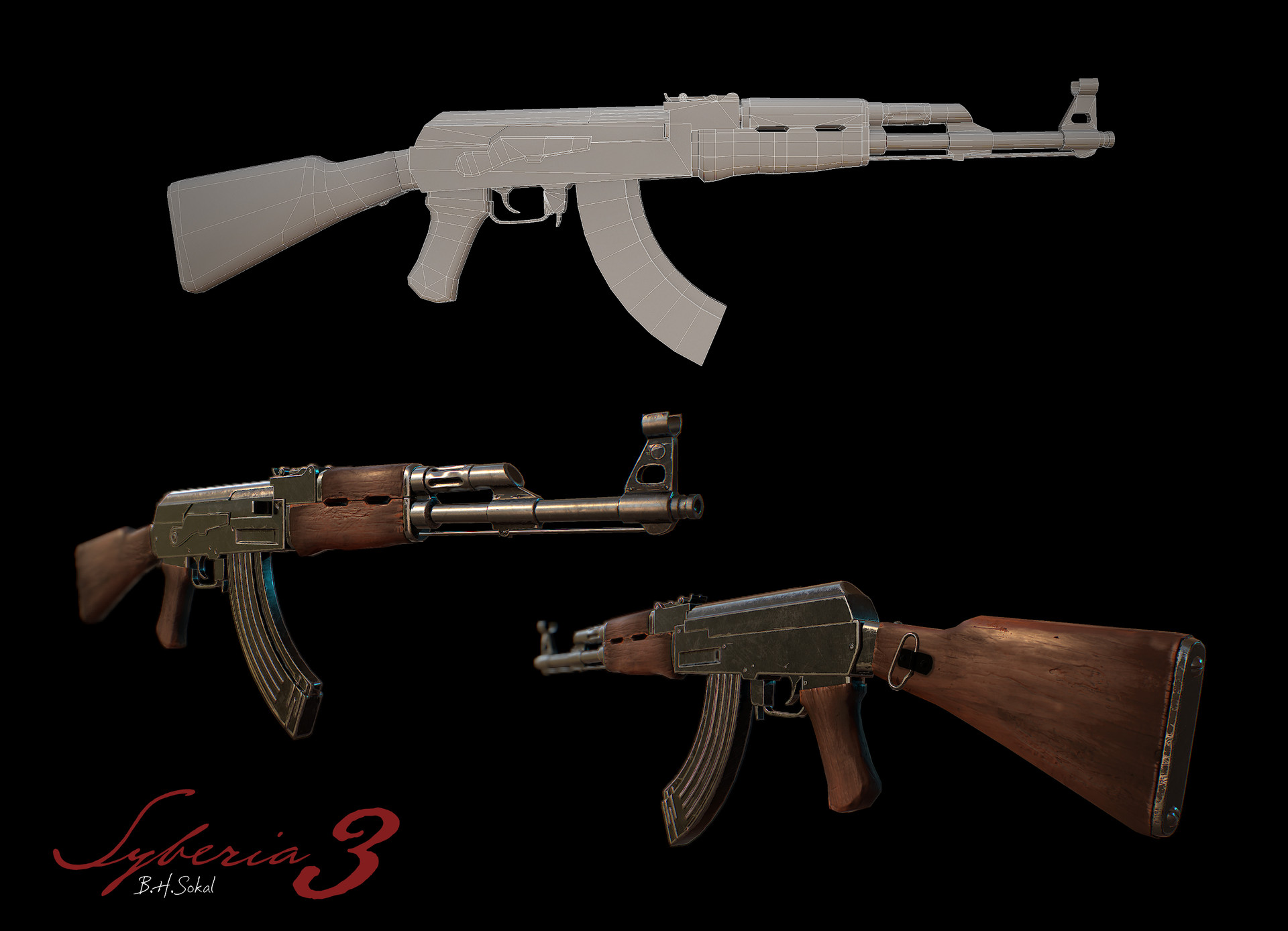 Anthony laurent ak47
