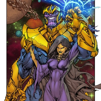 Maksim strelkov thanos and mistress death by pant inked small by gz12wk 6