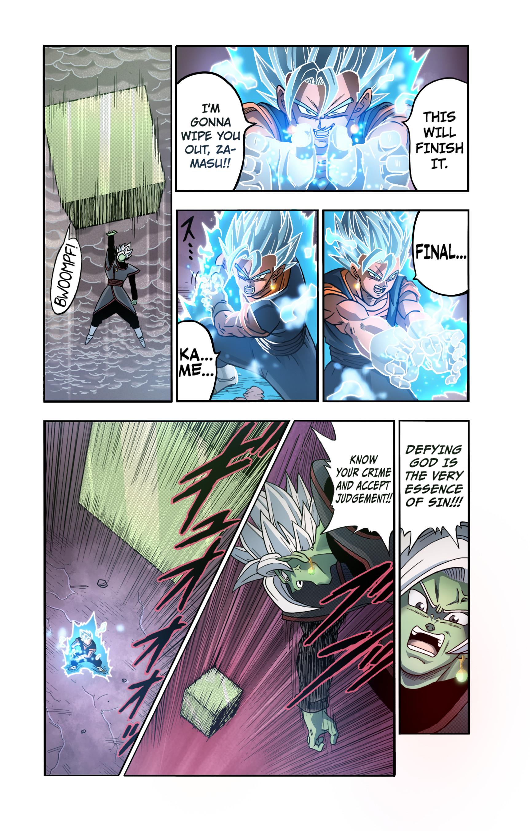 Jay F. - Dragon Ball Super Manga Color