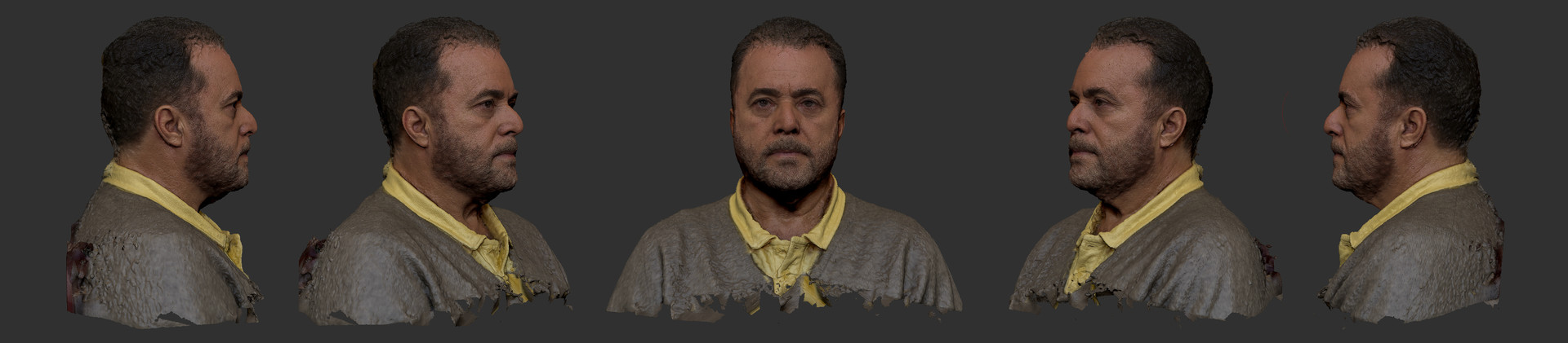 3D Scan of Brasilian actor Tony Ramos
