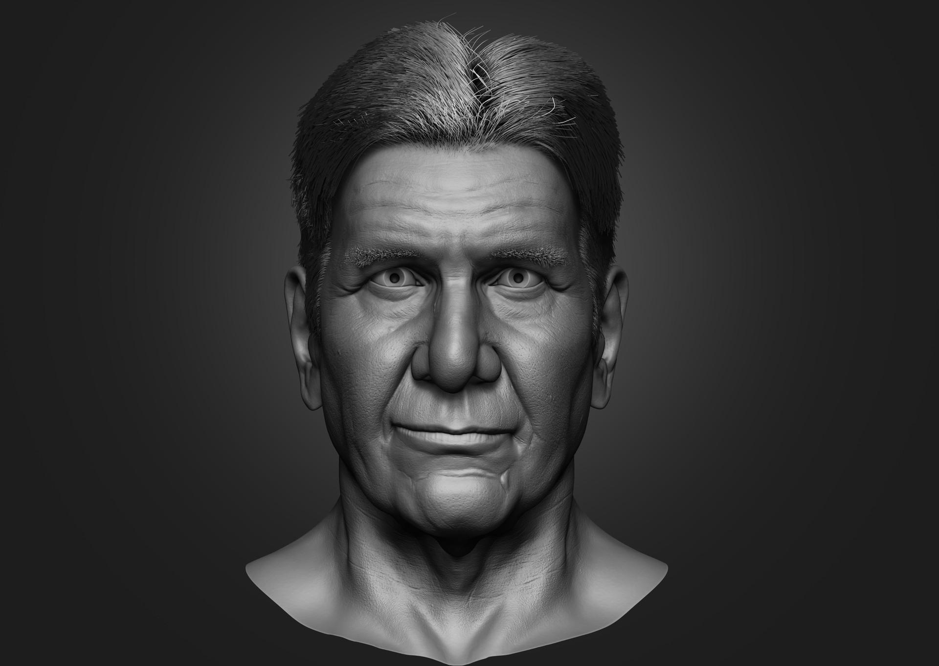Dhananjay Naidu Facial Anatomy And Likeness Study