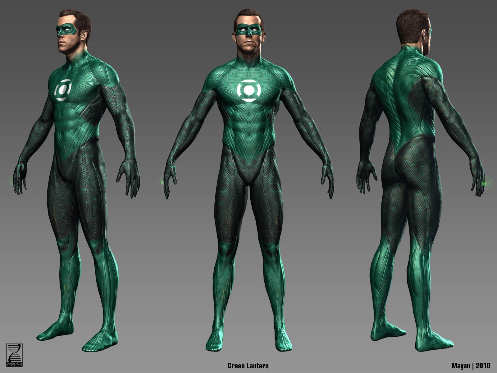 Hal in-game model.