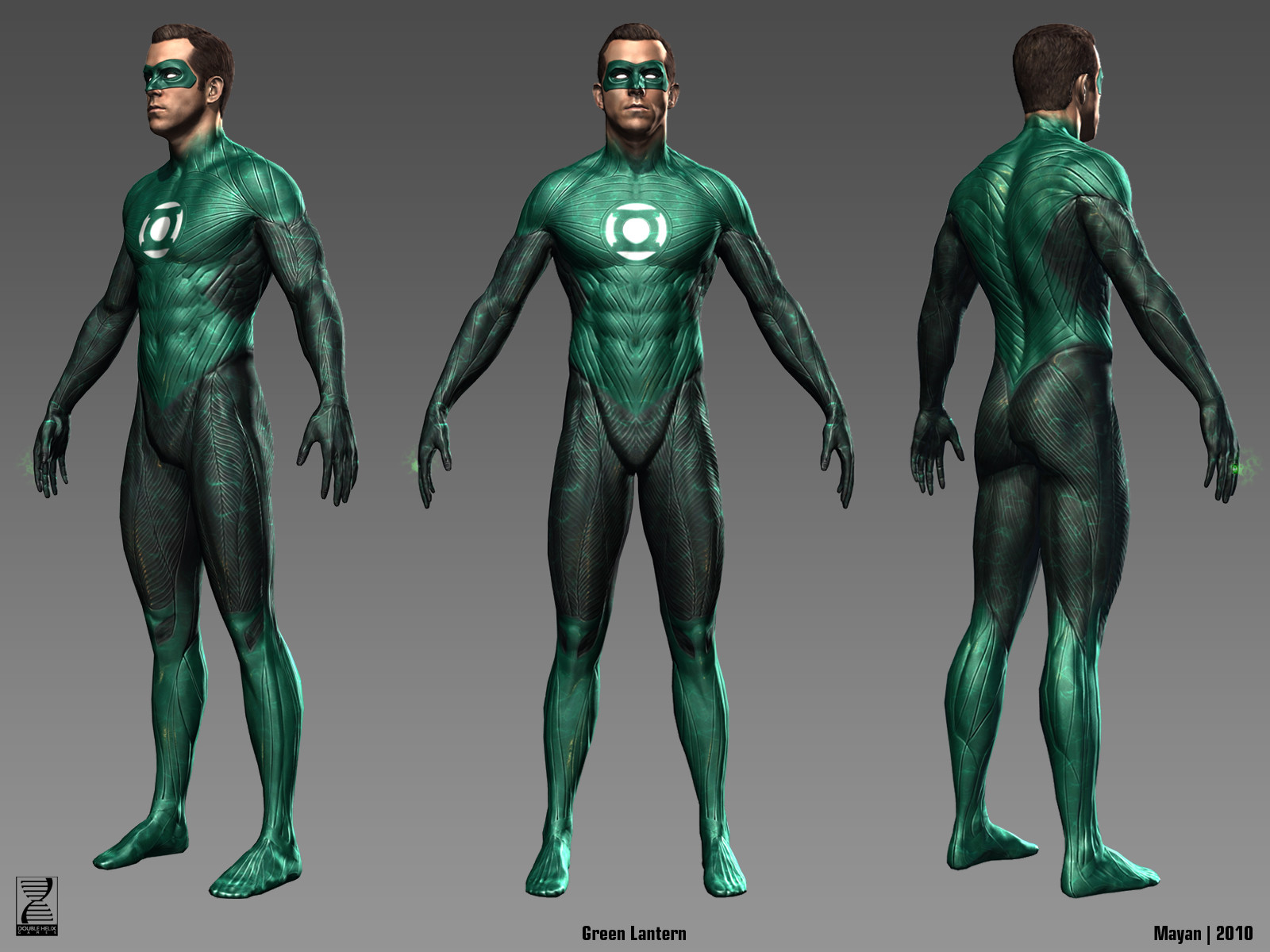 Hal in-game model.