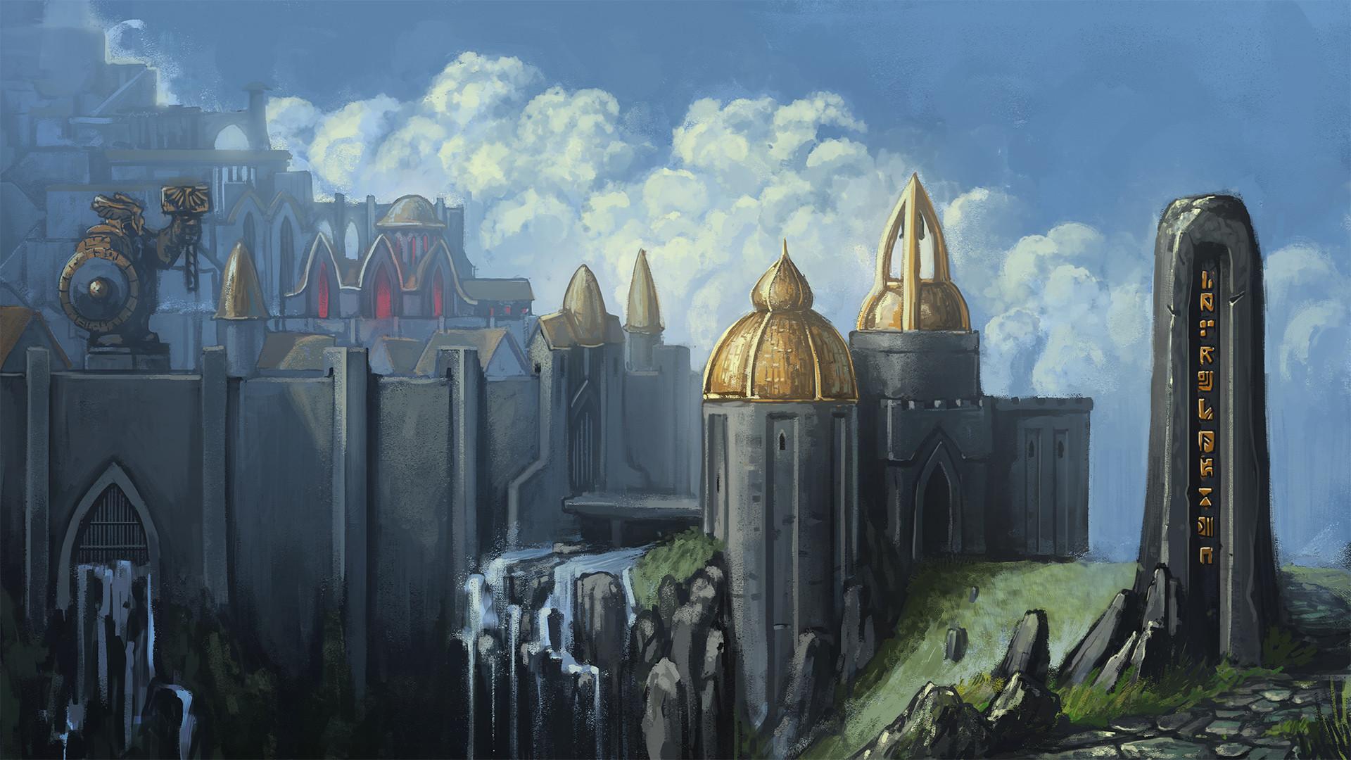 Artstation Dwarf Fortress Mateusz Dabrowski