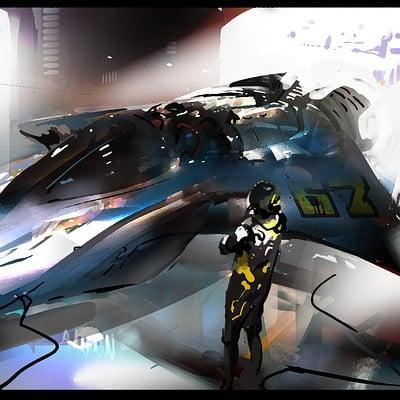 Ignacio bazan lazcano nave concept