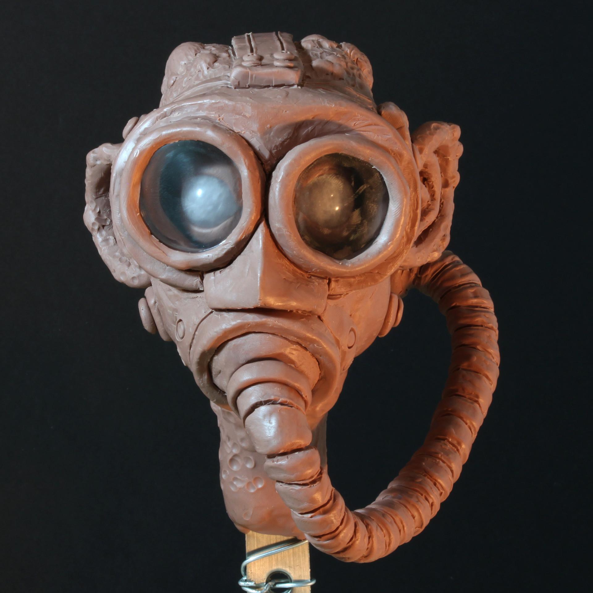 Rob mcdaniel gasmask front