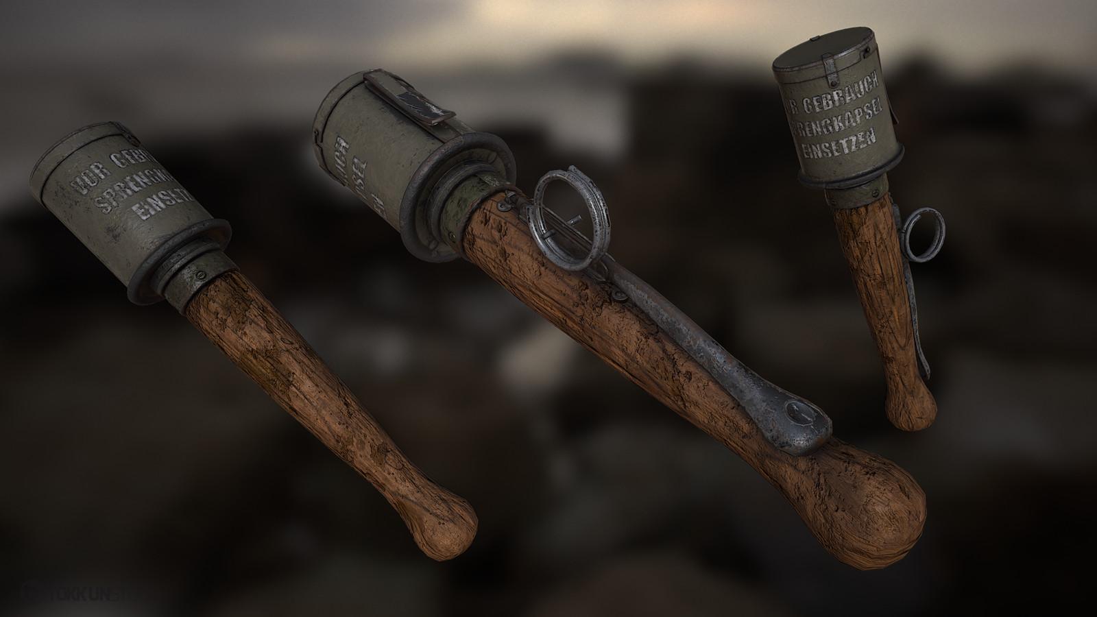 Grenades / 3D
