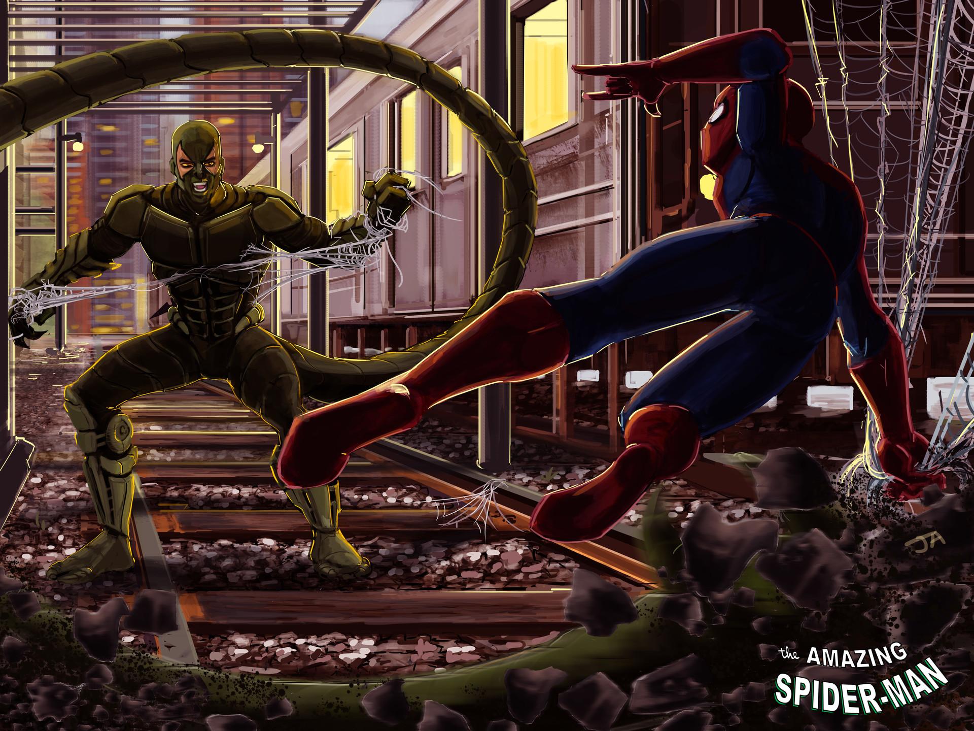 Jonathan allarie spiderman8