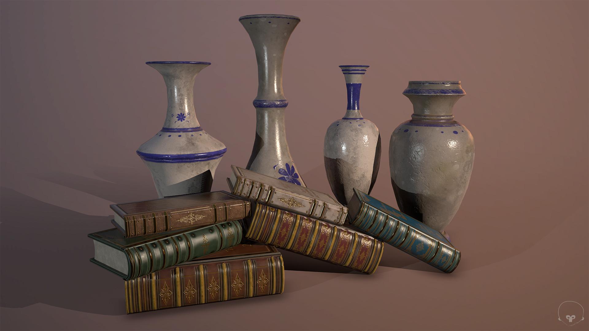 Paul mandegarian books vase 01