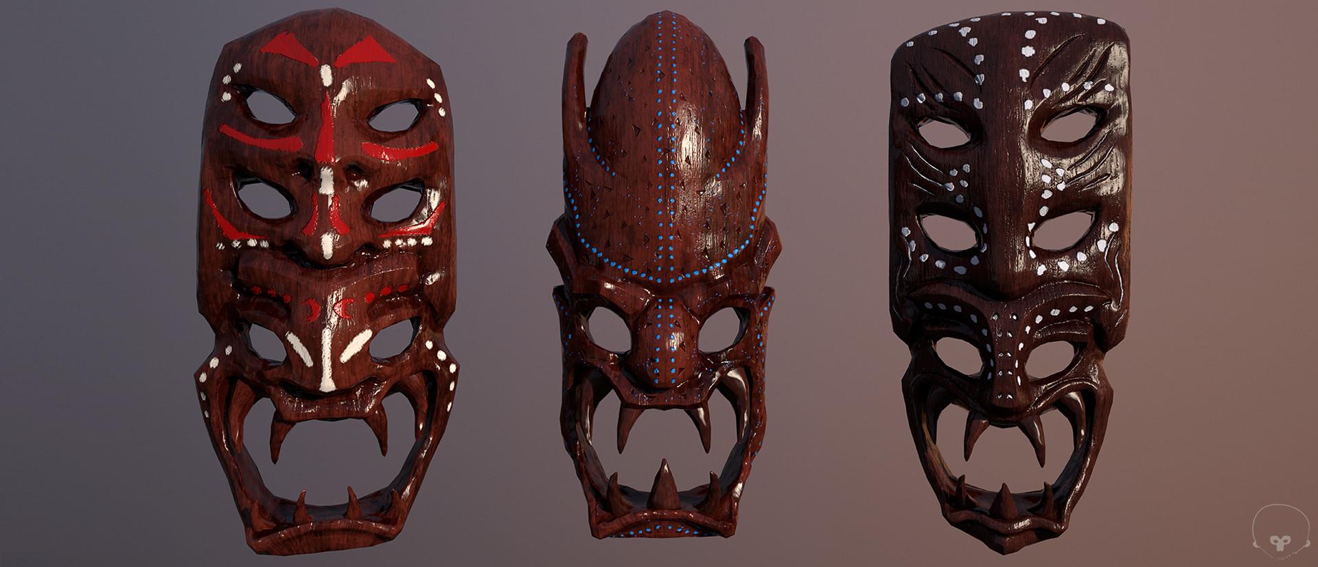 Paul mandegarian masks 02