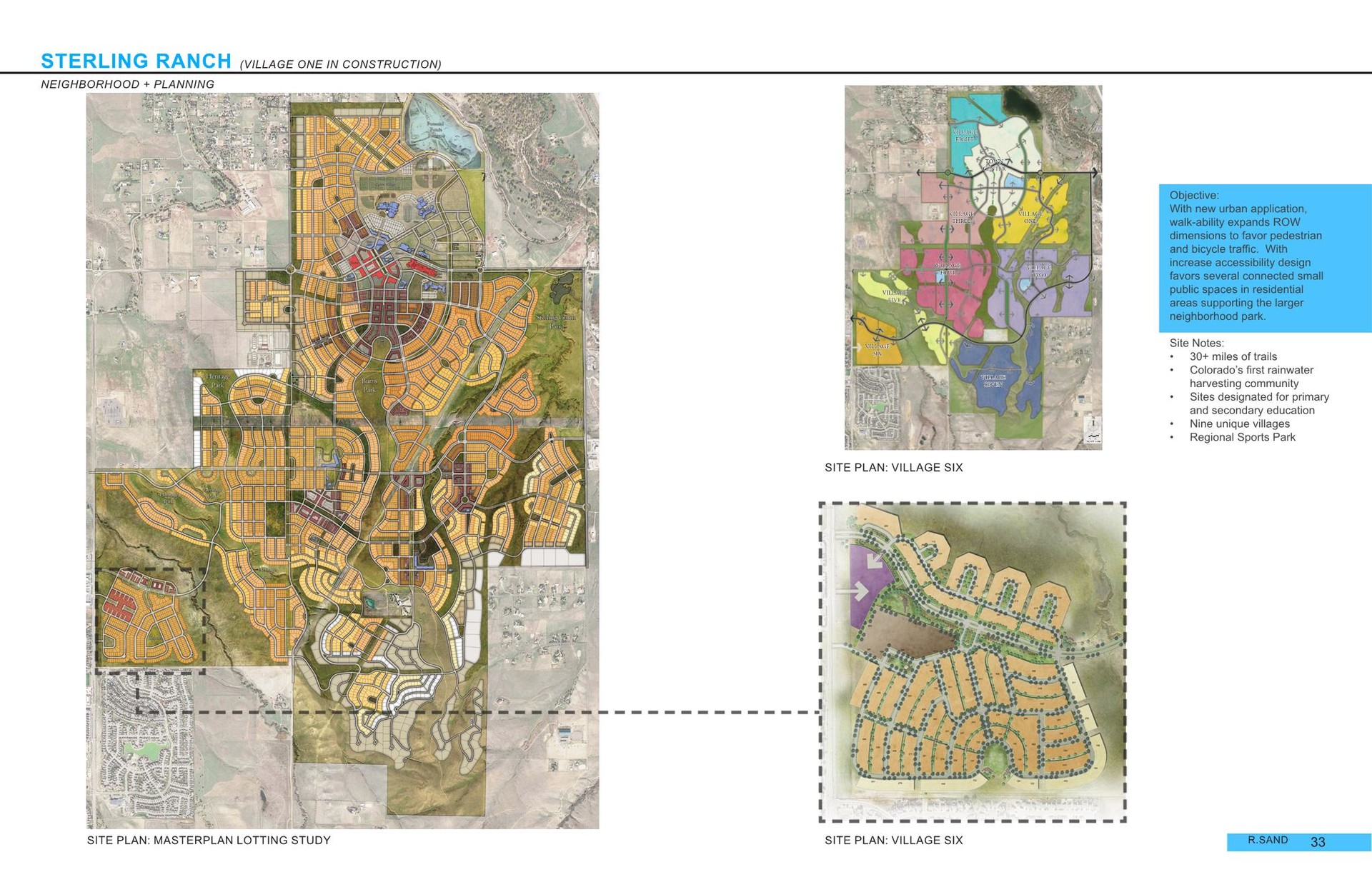 Sterling Ranch Colorado Map.R Sand Community Development Planning